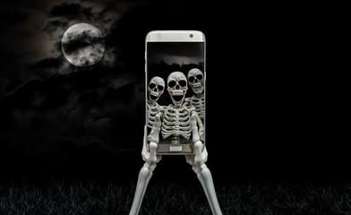 Skeleton Selfie