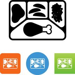 TV Dinner Icon