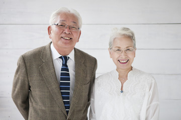 An elder couple's portfolio