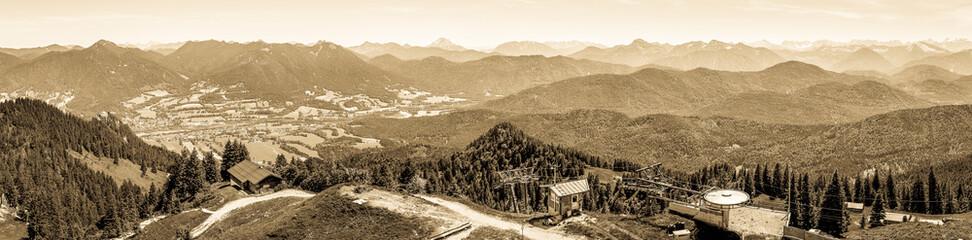 european alps - brauneck