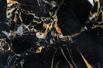 golden black marble with abstract structure detail