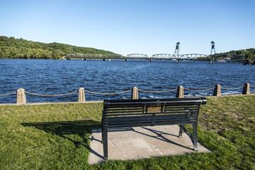 Stillwater lift bridge, MN