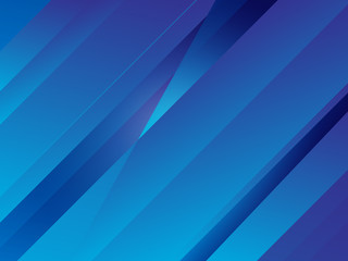 Abstract Blue Diagonal Lines Vector Background