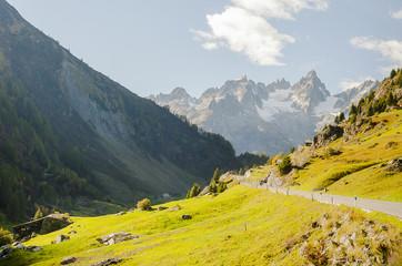 Susten, Wassen, Sustenpass, Passstrasse, Bergstrasse, Alpen, Schweizer Berge, Alpental, Wanderweg, Herbst, Herbstwanderung, Schweiz