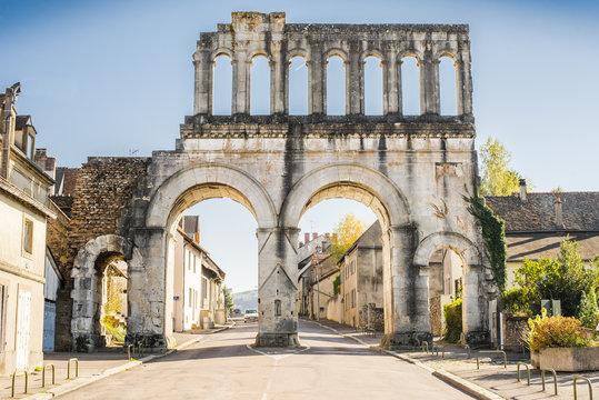 Autun, Porte de l'Arroux, France, Bourgogne, Saone-et-Loire