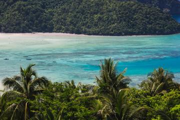 Amazing view at Phi Phi Island, Andaman Sea, Thailand
