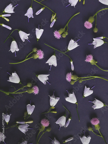 Dark Floral Background Frame Of Flowers March 8 Mother S Day