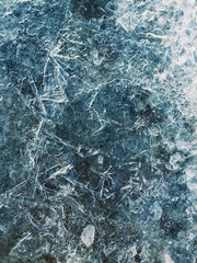 Frozen water surface background