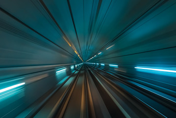 Speed and Motion - Futuristic Tunnel