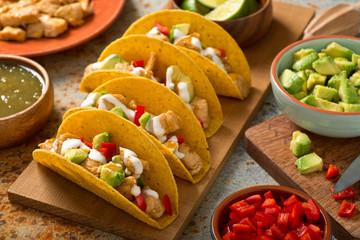Chicken Tacos Salsa Verde