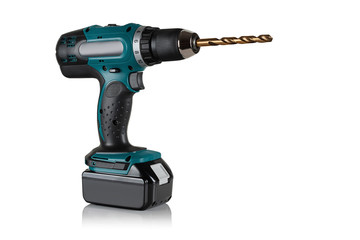Modern and powerful battery drill