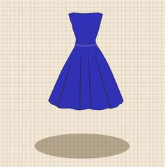vector dress icon