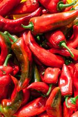 Fresh Red Pepper On The Market