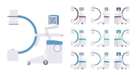 X-Ray machine set