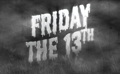 Friday the 13th Horror Movie Poster