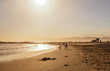 Venice Beach. Public beach in Los Angeles