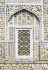 Arabic Mosaic Pattern Window