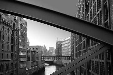 The warehouses in Hamburg