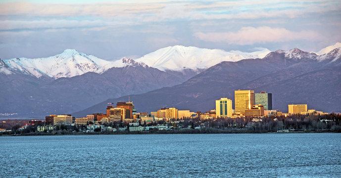 Anchorage, Alaska Skyline