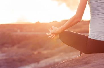 Peaceful meditation