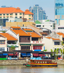 Boat Quay district, Singapore