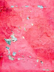 Red weathered background of a wall.