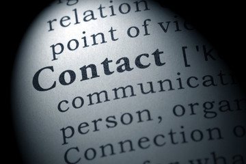 definition of contact