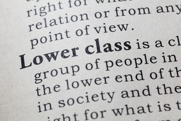 definition of Lower class