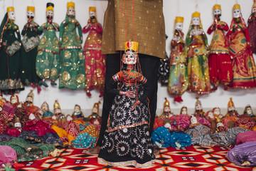 The Traditional Rajasthani  Dolls