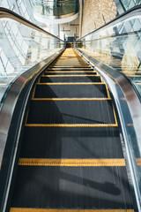 Escalator seen form above