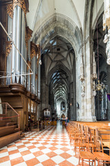 Visiting St. Stephen's Cathedral at Vienna, Austria's capital