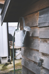 watering can in a farm