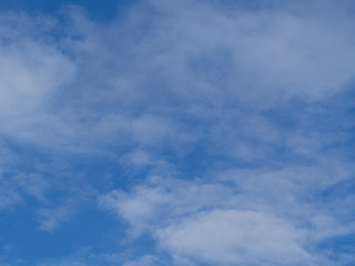 white cloud on blue sky..
