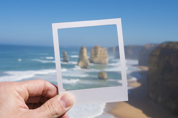 Twelve Apostles in a picture frame