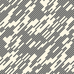 Abstract Chaotic Line Background. Seamless Rain Pattern