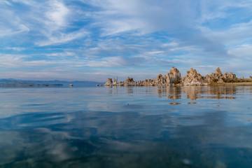 Mono Lake CA - amazing Lake - blue - water - sky