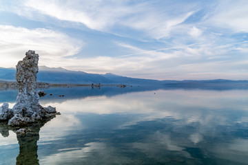 Mono Lake CA - amazing Lake - blue - water - sky