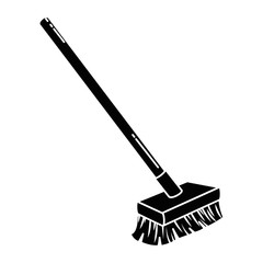 brush clean isolated icon