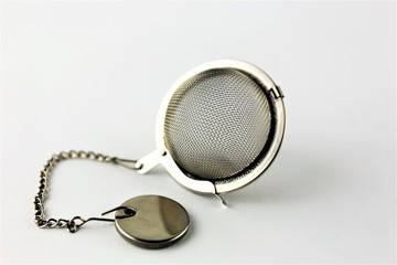 An Image of a tea strainer