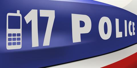police - voiture - sécurité - véhicule - gros plan - policier - délinquance - contrôle - urgence - secours