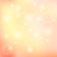 Vector blurry soft background with photographic bokeh