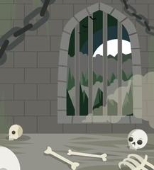 dungeon lair scene