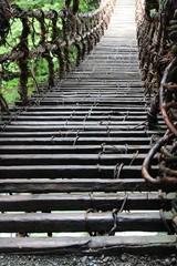 奥祖谷のかずら橋