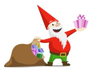 Bilder und videos suchen geschenkesack - Clipart weihnachtswichtel ...