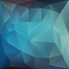 Blue geometric background