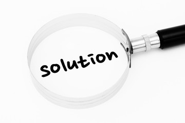 Solution in the focus