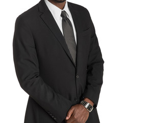 Man in a business suit