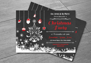 Christmas Party Invitation Flyer 8