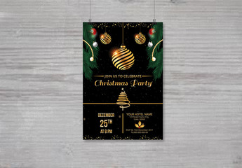 Christmas Party Invitation Flyer 11