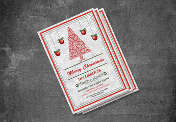 Christmas Party Invitation Flyer 15